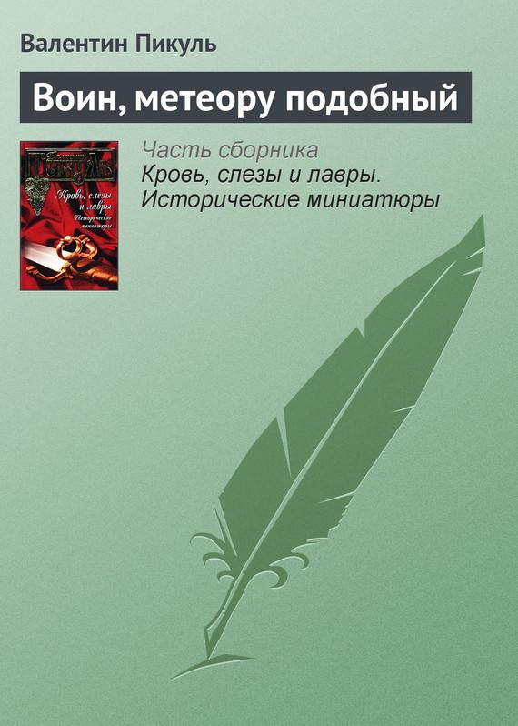 Обложка книги  - Воин, метеору подобный