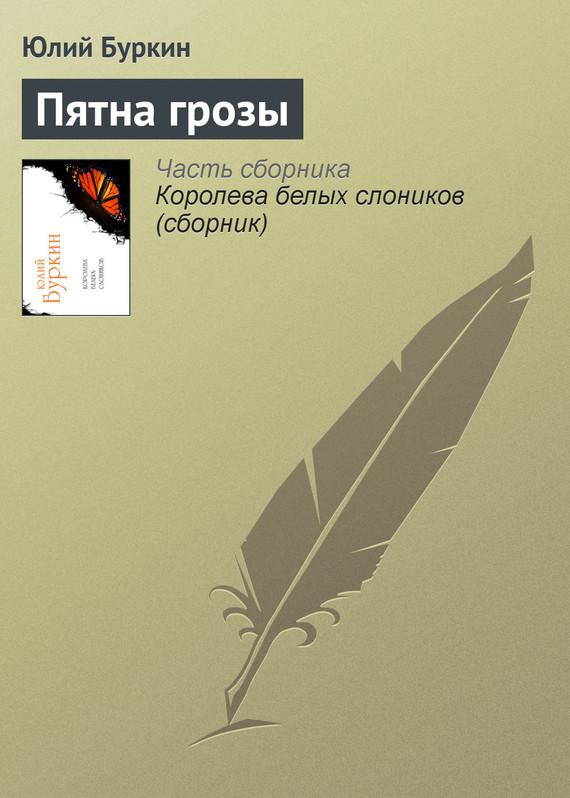 Обложка книги  - Пятна грозы