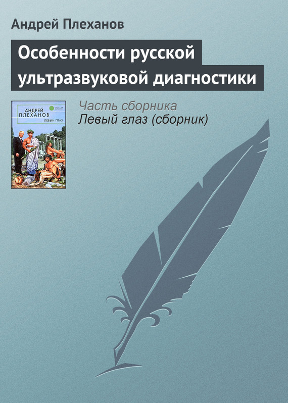 Обложка книги  - Особенности русской ультразвуковой диагностики