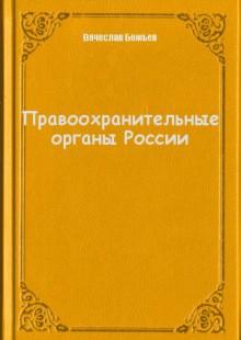 Обложка книги  - Правоохранительные органы России