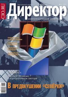 Обложка книги  - Директор информационной службы №08/2009