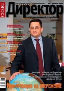 Обложка книги  - Директор информационной службы №12/2009