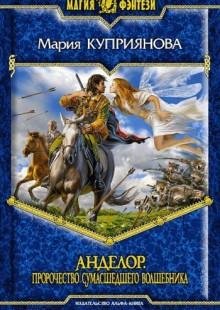 Обложка книги  - Пророчество сумасшедшего волшебника