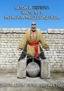 Обложка книги  - Мегасила мышц бицепсов