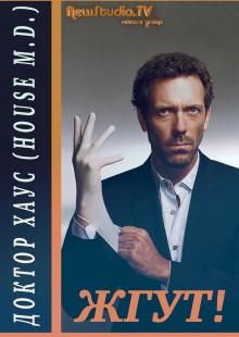 Обложка книги  - Доктор Хаус (House, M.D.). Жгут!