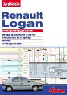 Обложка книги  - Электрооборудование Renault Logan. Иллюстрированное руководство