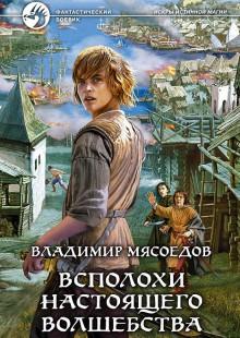 Обложка книги  - Всполохи настоящего волшебства