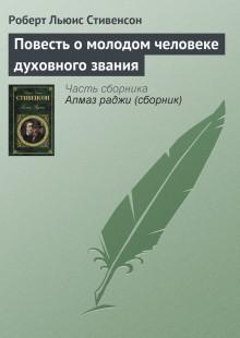 Обложка книги  - Повесть о молодом человеке духовного звания