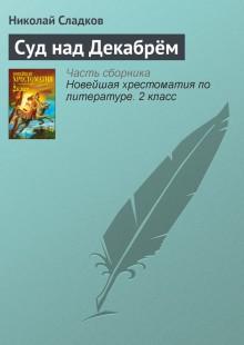 Обложка книги  - Суд над Декабрём