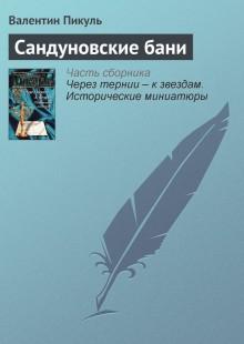 Обложка книги  - Сандуновские бани