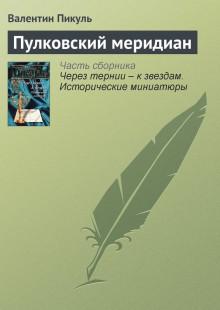 Обложка книги  - Пулковский меридиан
