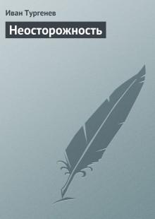 Обложка книги  - Неосторожность