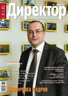 Обложка книги  - Директор информационной службы №01/2013