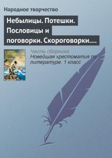 Обложка книги  - Небылицы. Потешки. Пословицы и поговорки. Скороговорки. Считалки
