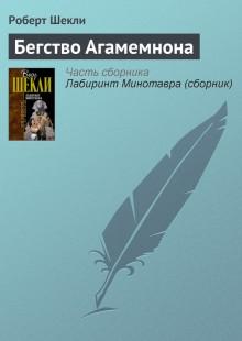 Обложка книги  - Бегство Агамемнона