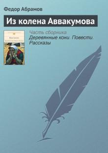 Обложка книги  - Из колена Аввакумова