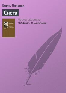 Обложка книги  - Снега