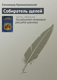 Обложка книги  - Собиратель щелей