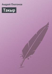 Обложка книги  - Такыр
