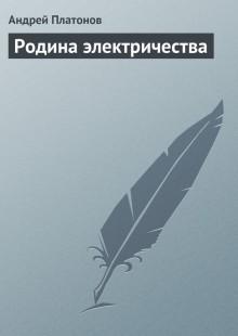 Обложка книги  - Родина электричества