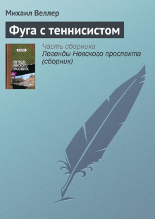 Обложка книги  - Фуга с теннисистом