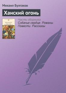 Обложка книги  - Ханский огонь