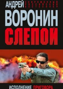 Обложка книги  - Слепой. Исполнение приговора
