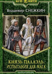 Обложка книги  - Князь Палаэль. Испытания для мага