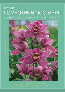 Обложка книги  - Лучшие комнатные растения. Иллюстрированная энциклопедия