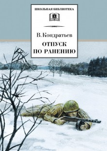 Обложка книги  - Отпуск по ранению