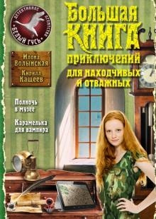 Обложка книги  - Большая книга приключений для находчивых и отважных (сборник)