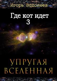Обложка книги  - Где кот идет 3. Упругая вселенная