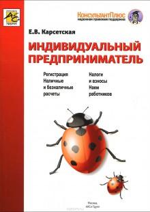Обложка книги  - Индивидуальный предприниматель