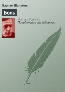 Обложка книги  - Боль