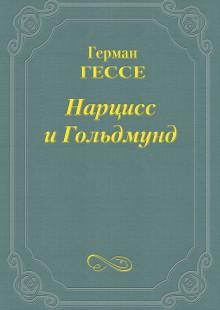 Обложка книги  - Нарцисс и Гольдмунд