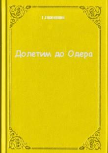 Обложка книги  - Долетим до Одера
