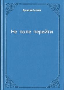 Обложка книги  - Не поле перейти