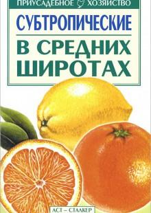 Обложка книги  - Субтропические в средних широтах