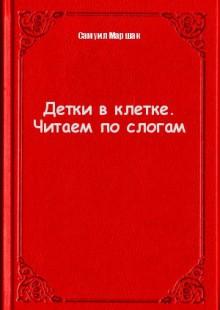 Обложка книги  - Детки в клетке. Читаем по слогам