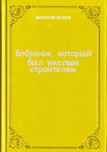 Обложка книги  - Бобренок, который был умелым строителем