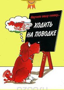 Обложка книги  - Научите вашу собаку… Ходить на поводке