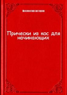 Обложка книги  - Прически из кос для начинающих