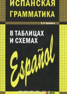 Обложка книги  - Испанская грамматика в таблицах и схемах