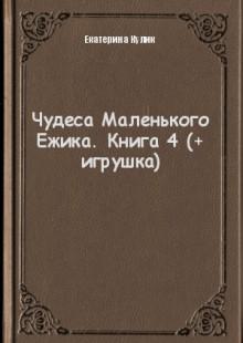 Обложка книги  - Чудеса Маленького Ежика. Книга 4 (+ игрушка)