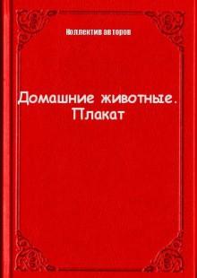 Обложка книги  - Домашние животные. Плакат