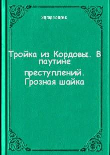 Обложка книги  - Тройка из Кордовы. В паутине преступлений. Грозная шайка