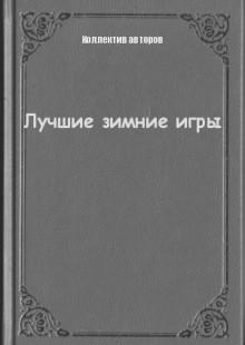 Обложка книги  - Лучшие зимние игры