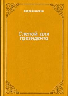 Обложка книги  - Слепой для президента