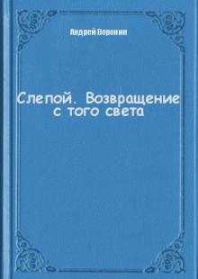 Обложка книги  - Слепой. Возвращение с того света