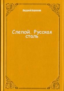 Обложка книги  - Слепой. Русская сталь